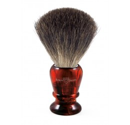Edwin Jagger 81P43 Imitation tortoiseshell shaving brush (Pure Badger)