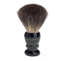 Edwin Jagger 81P46 Imitation Ebony shaving brush (Pure Badger)