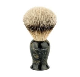 Edwin Jagger Plaza Imitation Black Marble Super Badger Shaving Brush