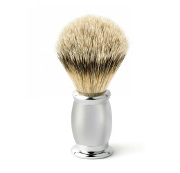 Edwin Jagger Bulbous Satin Super Badger Shaving Brush
