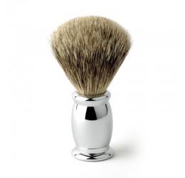 Edwin Jagger Bulbous Chrome Shaving Brush (Best Badger)
