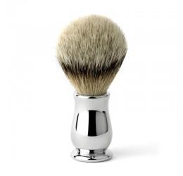 Edwin Jagger Chatsworth Chrome Shaving Brush (Super Badger)