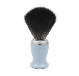 Edwin Jagger Light Blue Shaving Brush (Black Synthetic)