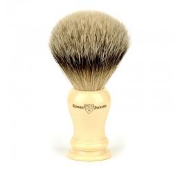 Edwin Jagger Loxley Imitation Ivory Shaving Brush (Super Badger)