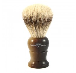 Edwin Jagger Imitation Horn Shaving Brush (Super Badger)