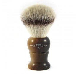 Edwin Jagger Imitation Horn Synthetic Fill Shaving Brush