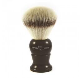 Edwin Jagger Black Shaving Brush (Synthetic Silvertip)