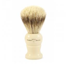 Edwin Jagger Imitation Ivory Shaving Brush (Super Badger)