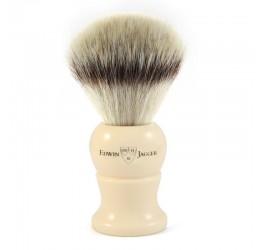 Edwin Jagger Imitation Ivory Synthetic Fill Shaving Brush