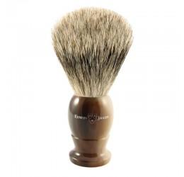 Edwin Jagger Imitation Horn Shaving Brush (Best Badger)
