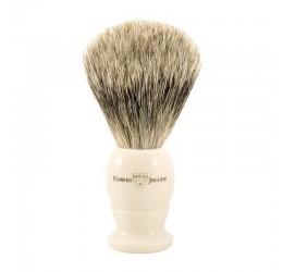 Edwin Jagger Imitation Ivory Best Badger Shaving Brush
