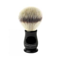 Edwin Jagger Chatsworth Ebony Shaving Brush (Synthetic Silvertip)