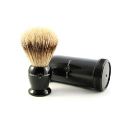 Edwin Jagger Super Badger Travel Shaving Brush (Ebony)