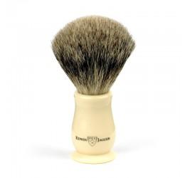 Edwin Jagger Chatsworth Imitation Ivory Shaving Brush (Best Badger)