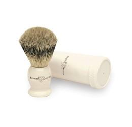 Edwin Jagger Best Badger Travel Shaving Brush (Ivory)