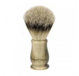 Edwin Jagger Chatsworth Imitation Horn Shaving Brush (Super Badger)